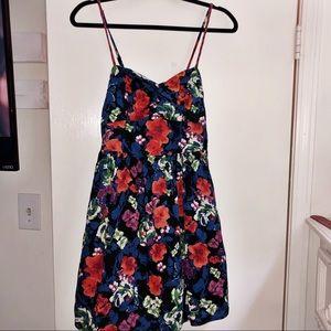 Xhileration Floral Target Dress